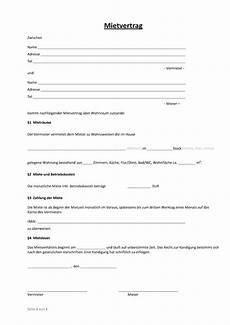 mietvertrag muster und vorlagen zum vorlagen 365