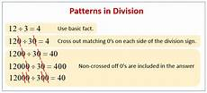 division patterns solutions exles songs videos worksheets games activities