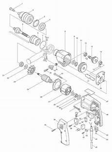 buy makita hp2010n 3 4 inch 6 0 s replacement tool parts makita hp2010n electric drill
