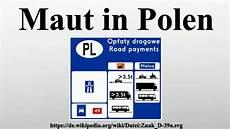 Maut In Polen - maut in polen
