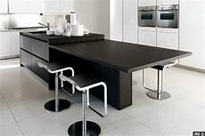 ilot central table coulissante table de cuisine centrale ilot ctpaz solutions la maison 2