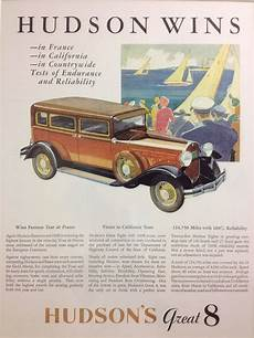 kelley blue book classic cars 1989 ford e series parental controls hudson s great eight 1931 32 vintage ad at kelley blue book s headquarters new and used