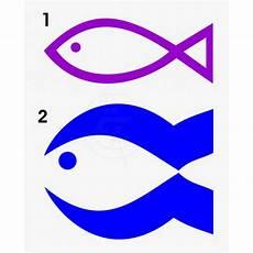 Malvorlage Fisch Christliches Symbol Fisch Fischaufkleber Christliches Symbol