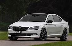 skoda superb sportline launched in britain in sedan and