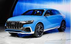 first glance at audi s new exclusive rs q8 suv with over 600 hp unveiled at geneva motor show