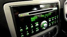 ford focus autoradio sony dsp audio ford focus