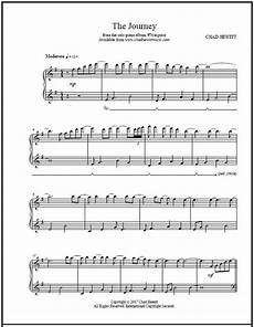 the journey sheet pdf chad hewitt solo piano