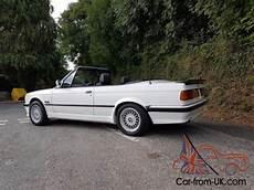 g m federn e30 1990 g bmw 325i auto convertible e30 alpine white m