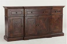 wooden credenza heavy solid wood 78 quot dining room credenza or sideboard
