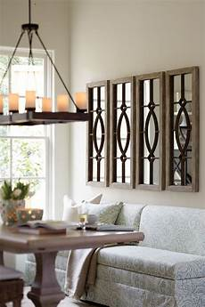 Home Decor Ideas With Mirrors by Decorating With Architectural Mirrors Dining Room Wall