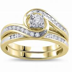 2019 popular wedding and engagement ring sets
