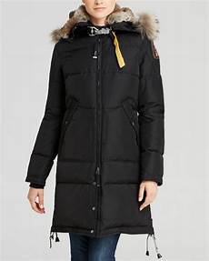 parajumpers long bear sale parajumpers coat in black lyst