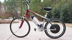 installing an electric bike e bike conversion kit