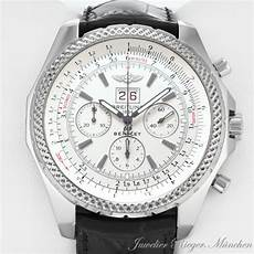 breitling for bentley 6 75 uhr a44362 big date stahl