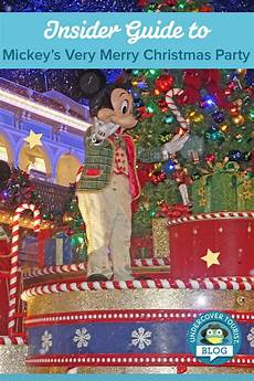 guide to mickey s very merry christmas party