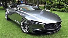 Mazda Vision Coup 233 Concept Start Up Sound Moving