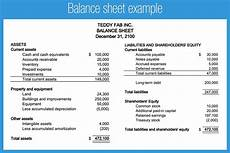 22 free balance sheet templates in excel pdf word