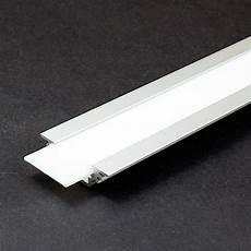 profilé led encastrable diffuseur pour profil 233 led encastrable blanc 1m