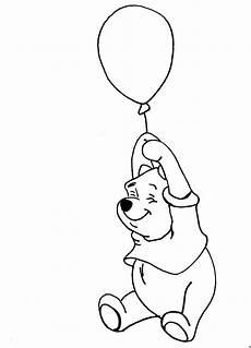 Malvorlagen Ausmalbilder Luftballon Winnie Puh Mit Luftballon Ausmalbild Malvorlage Sonstiges