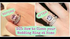 How To Clean A Ring diy how to clean your wedding ring at home
