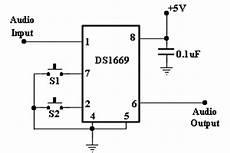 Ds1669 Digital Potentiometer Circuit Diagram Electronic