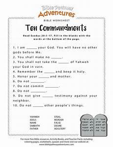 ten commandments worksheet for kids bible lessons for kids bible activities for kids bible