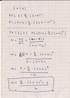 vom differenzen zum differentialquotient f x 1 4 x 1