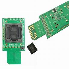 Emcp Test Socket With Sd Interface For Bga 162 And Bga