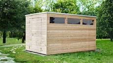 design gartenhaus holz l 228 rchenholz mit flachdach