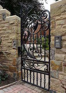 wrought iron side garden gates valley forge