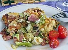 brokkoli schinken auflauf brokkoli schinken auflauf mit gorgonzola luckys