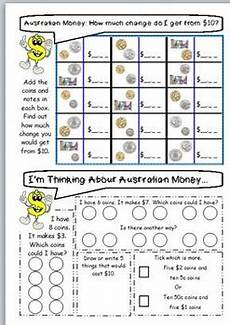 australian money worksheets year 3 4 by jbee educational resources