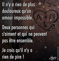 amour impossible amour impossible citation amour
