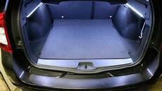 Led Leisten Im Kofferraum Des Dacia Logan Mcv 2