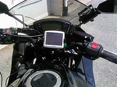 mounting tomtom one on kawasaki 650r gallery article