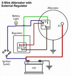 wiring diagram for a 12 volt alternator 12 volt delco alternator wiring diagram wiringdiagram org denso alternator circuit diagram