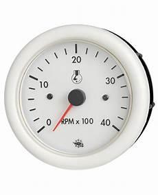 compte tours heures guardian diesel 4000 rpm 12v blanc