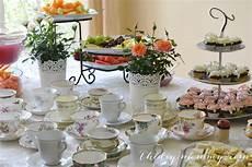 a vintage bridal shower craft tea the diy