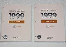 car owners manuals free downloads 1999 cadillac catera regenerative braking 1999 cadillac catera factory service manual set original shop repair factory repair manuals