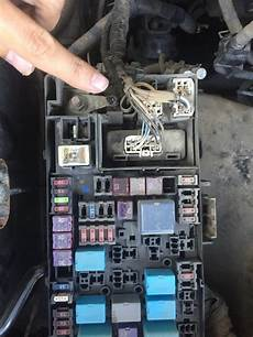 99 tacoma fuse box alternator not charging battery possible bad wire connecting to the fuse box the culprit