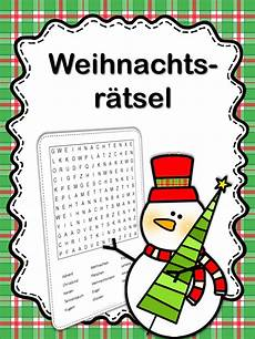 german word search weihnachten school