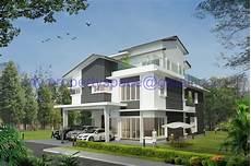modern bungalow house design malaysia contemporary