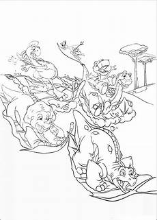 Ausmalbilder Dinosaurier Littlefoot The Land Before Time Coloring Pages