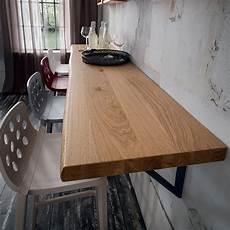 mensola in legno mensola a parete in legno massello da 100 a 250 cm elias