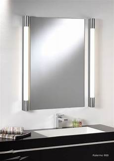 ax0479 palermo 900 bathroom wall light in polished chrome for above mirror lighting