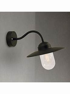 nordlux luxembourg outdoor wall light black at lewis partners