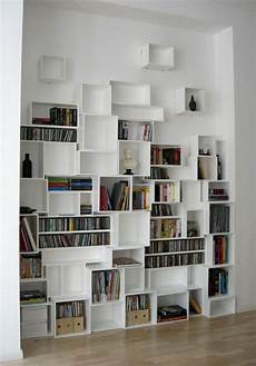 ikea bibliotheque cube biblioth 232 ques compos 233 es avec des cubes biblioth 232 que