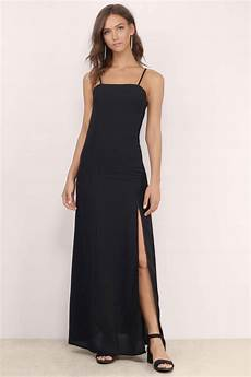 About You Kleider - cheap black maxi dress black dress cami dress maxi