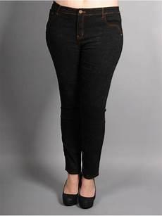 jean taille haute noir 46 et plus