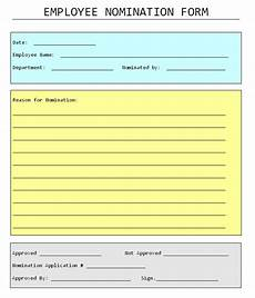 employee of the month form template nowok